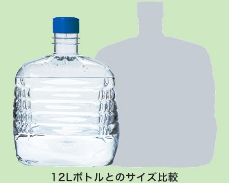 小型軽量ボトルだから交換もスムーズに!